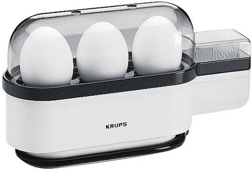 Tojásfőző 3 tojáshoz, 300 W, fehér/fekete, Krups Ovomat F234-70