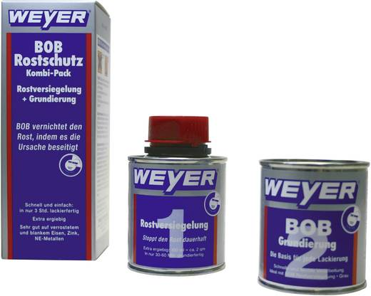 Rozsdavédő kombi csomag 200 ml Weyer BOB