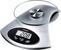 Digitális konyhai mérleg, üveg/ezüst, Korona 5826120 (76120) Korona