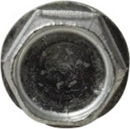 Horganyzott acél lemezcsavar fúróheggyel, külső hatlapú DIN 7504, Ø3,5x19 mm, 100 db, TOOLCRAFT
