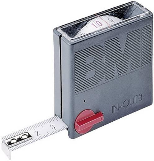 Mérőszalag 3 m Acél BMI TASC