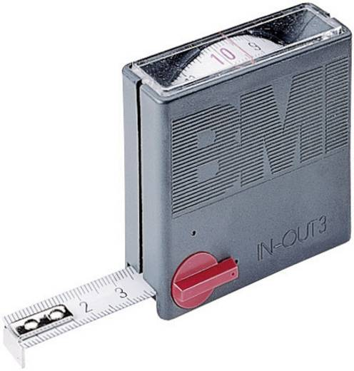Mérőszalag 3 m Acél BMI TASCHENMAß IN/OUT 3M 404351030