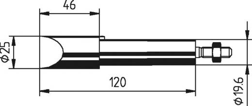 Ersa Tartalék pákahegy 302MZ véső forma, megerősített, nikkelezett Hegy méret 25 mm