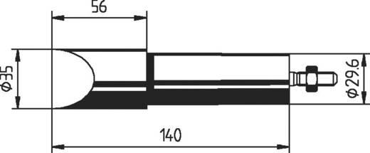Ersa Tartalék pákahegy 552MZ véső forma, megerősített, nikkelezett Hegy méret 35 mm