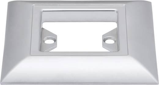 Beépítő gyűrű, négyszögletes, króm színű (matt), Paulmann Updownlight Quadro 98861