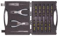 14 részes szerszám szortiment szerviz kofferben C.K. T3707DX (T3707DX) C.K.