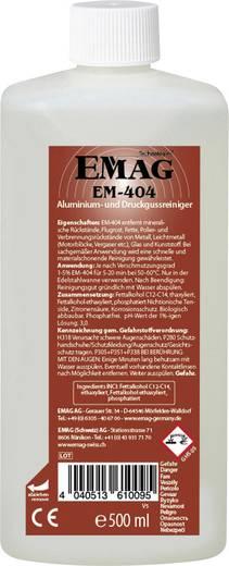 Ultrahangos tisztító folyadék, porlasztó és öntvénytisztító 0,5 l, Emag EM404