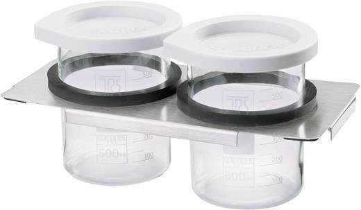 Fedél 3 l, 2 x 600 ml-es üveggel, Emag ultrahangos tisztítóhoz, Emag EM-30DG