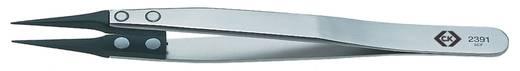 C.K. Beültető csipesz 130 mm 5.1/8 5CF típus szénszálas heggyel T2391