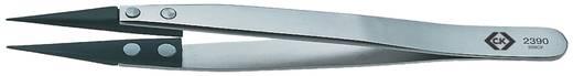 C.K. Beültető csipesz 130 mm 5.1/8 259CF típus szénszálas heggyel T2390