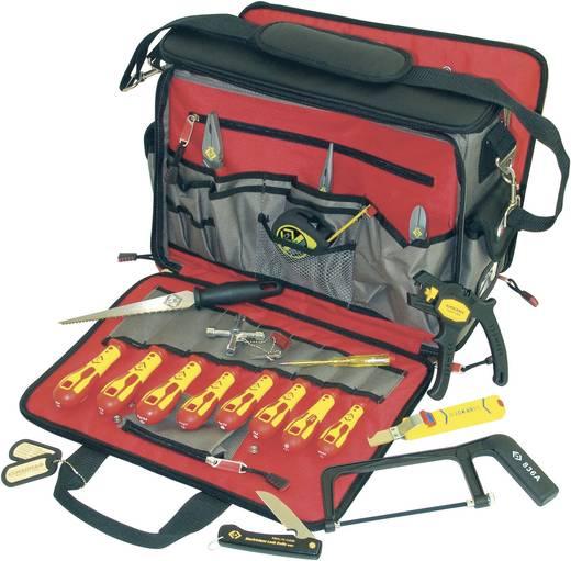 C.K. Szerszámos táska 18 részes profi villanyszerelő készlettel T1630 FKIT