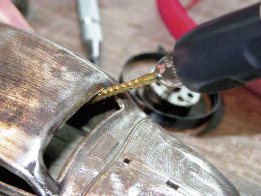 Mini titán-Nitrid fúró-marószár készlet 5részes 2,35mm átmérővel RONA 450348
