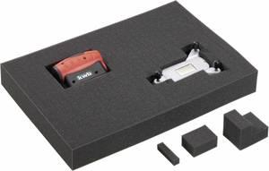Műszertáska habszivacs betét (H x Sz x Ma) 455 x 320 x 60 mm, Toolcraft TOOLCRAFT