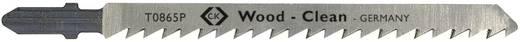 Kiszúró fűrészlap, HCS fához, hosszú penge, 5 db kártyán C.K. T0865P Fűrészlap