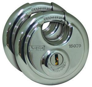 Kasp K16070D2 Függő lakat Ezüst Kulcsos zár (K16070D2) Kasp