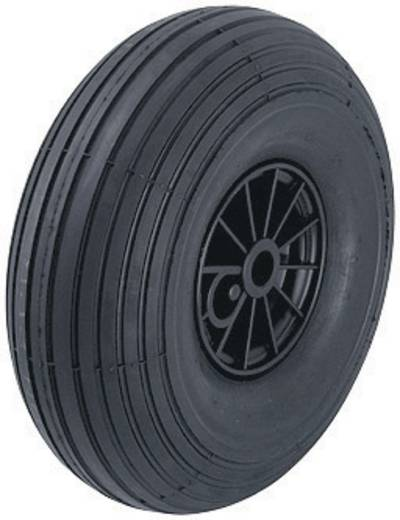 Blickle 10926 Kerék levegő nyomású abronccsal és acél lemez felnivel, görgőcsapággyal, Ø 260 mm, levegőnyomású köpenyek