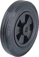 Kerék tömör gumi abronccsal és műanyag felnivel, Ø: 160 mm, kivitel: levegőnyomású köpenyek Blickle 20743 Blickle