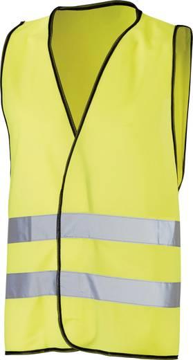 Láthatósági mellény, sárga fényvisszaverős mellény Griffy 40981