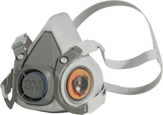 3M Félmaszk 6300L Szűrőosztály/Védelmi fok: Behelyezett szűrőtől függően (ld. a tartozékoknál) 1 db