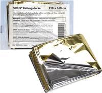Söhngen 0701001 SIRIUS® alumínium bevonatú vésztakaró 210 cm x 160 cm Söhngen