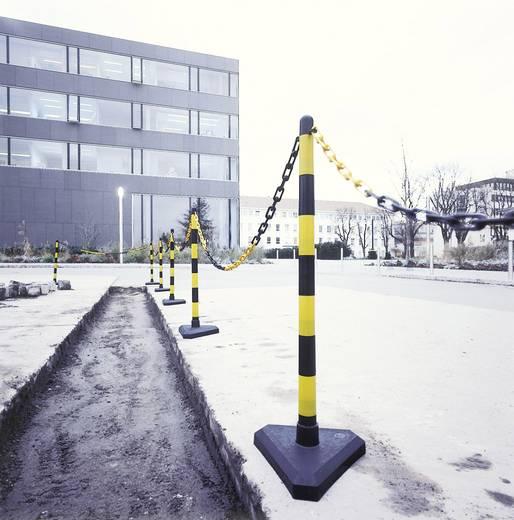 Lánctartó oszlop, GUARDA,S/G,háromszög alakú talppal