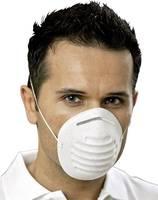 Légzésvédő maszk, eldobható porvédő maszk 50db-os készlet EKASTU Sekur 211 100 (211 100) EKASTU Sekur