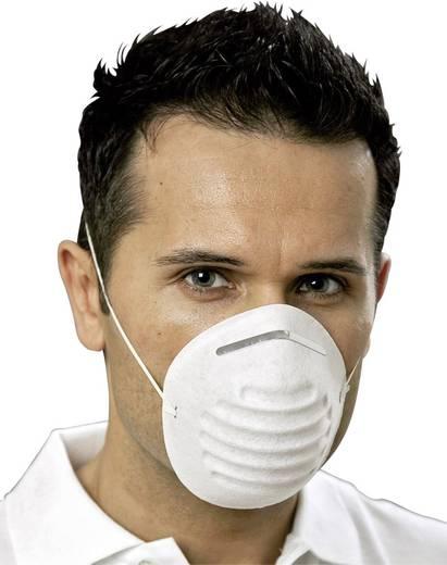 Légzésvédő maszk, eldobható porvédő maszk 50db-os készlet EKASTU Sekur 211 100