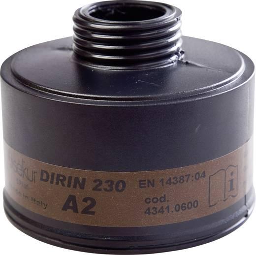 EKASTU Sekur Gázszűrő, DIRIN 422 761 Szűrőosztály/Védelmi fok: A2 1 db