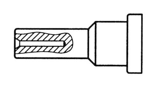 Weller LT rövid, egyenes, merőlegesen lapított, lapos pákahegy, forrasztóhegy 0.5 mm