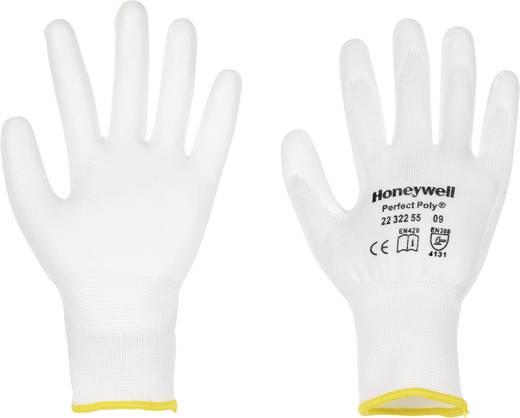 PERFECTPOLY kötött védőkesztyű PU fehér 6 méret