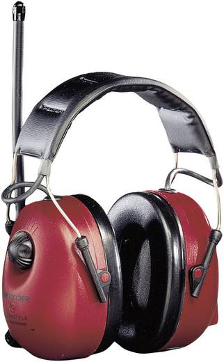 Fejpántos hallásvédő fültok, zajcsillapító fülvédő MP3 csatlakozás/beépített FM rádióval PELTOR™ Workstyle HTRXS7A-01