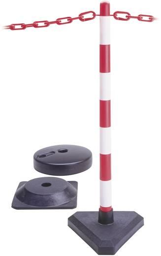 Lánctartó oszlop, GUARDA,S/G, négyszögletes gumitalppal
