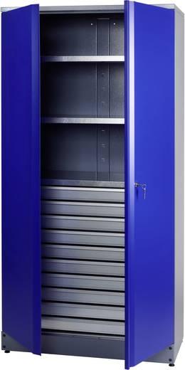 Tároló szekrény műhelybe, 10 fiókkal