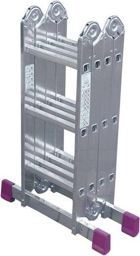 Krause állvány, állítható magasságú kinyitható többfunkciós alumínium létra (max.): 4.65 m Krause 85009