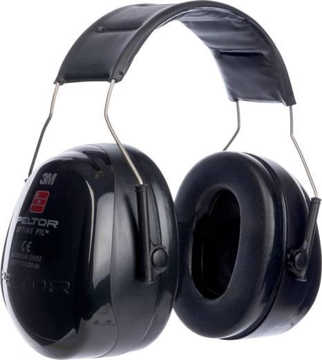 Fejpántos, kapszulás hallásvédő fültok, Ki/Be kapcsolható hangáteresztő fülvédő PELTOR Push-To-Listen MT155H530A 380