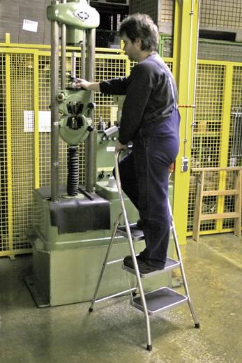 Krause egyoldalon járható 3 fokos összecsukható alumínium fellépő létra, Toppy XL
