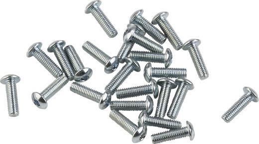 Lencsefejű hatlapú belsőkulcsnyílású csavarok, 7380-10.9 VZ.2,5X8 (20), Liko 839615