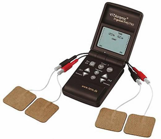 2 csatornás digitális kombi izomstimulátor, ingeráram készülék, Vitatronic TENS/EMS 151260