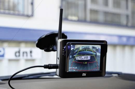 Vezeték nélküli tolatást segítő videórendszer, rendszámtábla kamerával, RFK INTEGRO 3.5