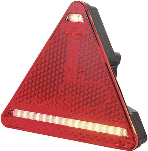 LED-es háromszög alakú utánfutó lámpa, 12/24 V, SecoRüt 95326