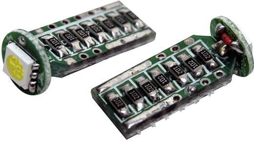 SMD LED-es izzó T10-es foglalattal fehér 9 mm x 24 mm Eufab