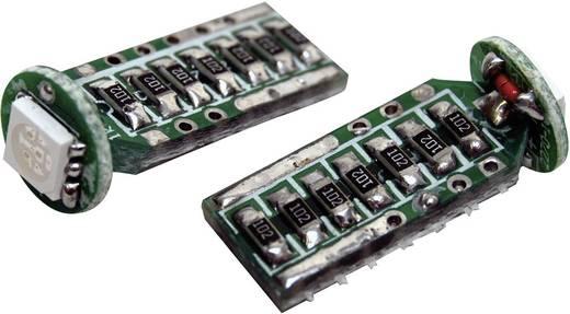 SMD LED-es izzó T10-es foglalattal kék 9 mm x 24 mm Eufab