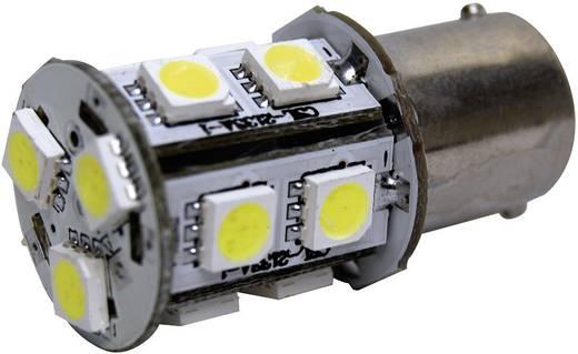 SMD LED-es izzó BA15S foglalattal fehér 20 x 43 mm Eufab