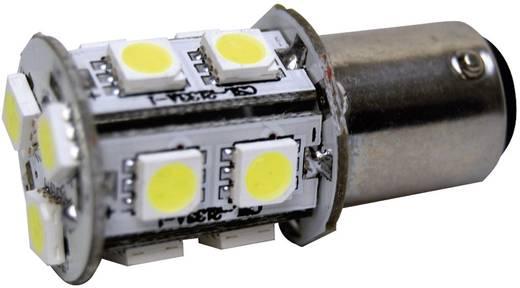 SMD LED-es izzó BA15D foglalattal fehér 20 x 43 mm Eufab
