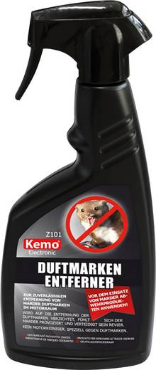 Nyest és menyét szag eltávolító spray, Kemo Electronic Z101