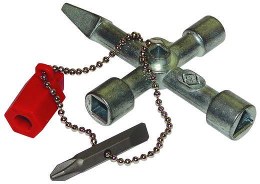 Kapcsolószekrény kulcs C.K. 495015