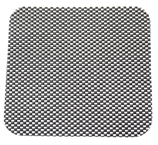 Csúszásmentes szőnyeg (H x Sz) 22 cm x 20 cm Szürke 19297
