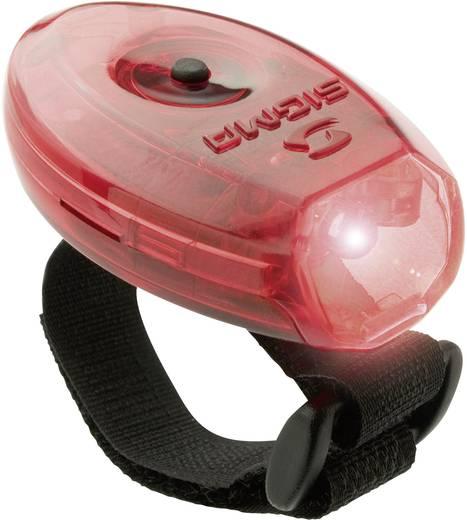LED-es biztonsági villogó, piros fényű