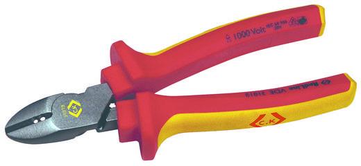 C.K. Oldalcsípőfogó VDE 160mm, csupaszoló bevágásokkal 431019