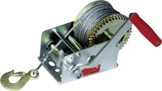 Kézi kötélcsörlő 1100 kg Hajtókar Húzóerő (álló)=1100 kg